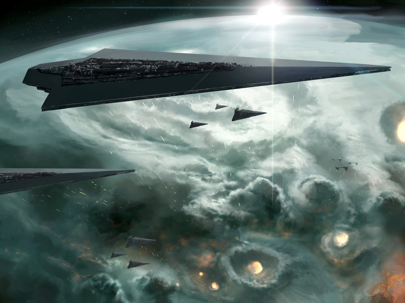 Star Wars Venator Wallpaper Posted By Samantha Mercado