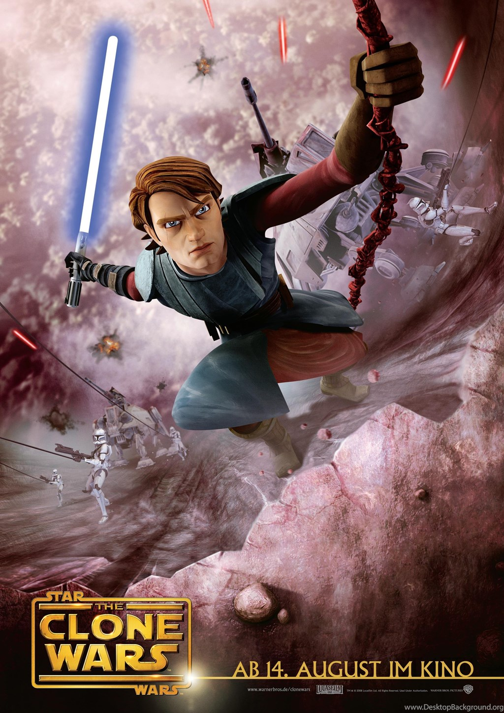 Star Wars The Clone Wars Anakin Skywalker Wallpapers And