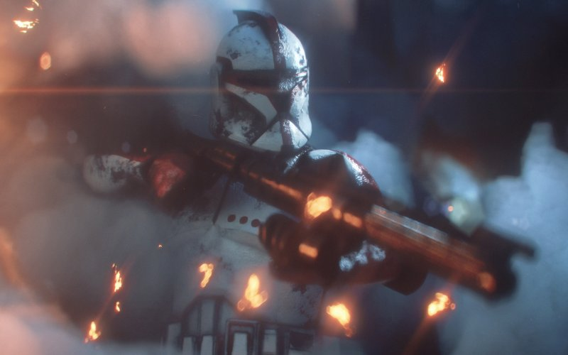 Desktop wallpaper video game, star wars, clone trooper, hd