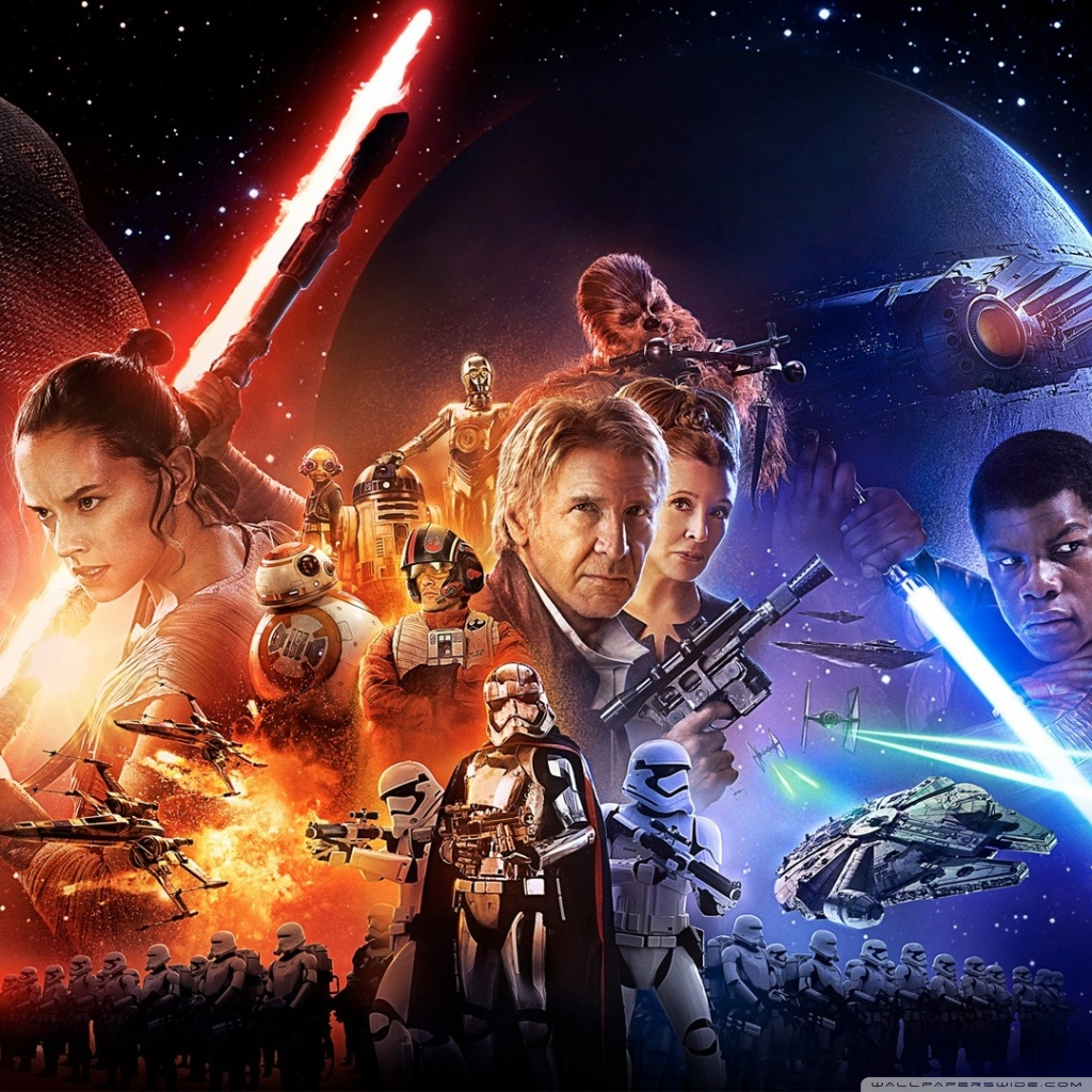 Star Wars Wallpaper Force Awakens Posted By Michelle Simpson