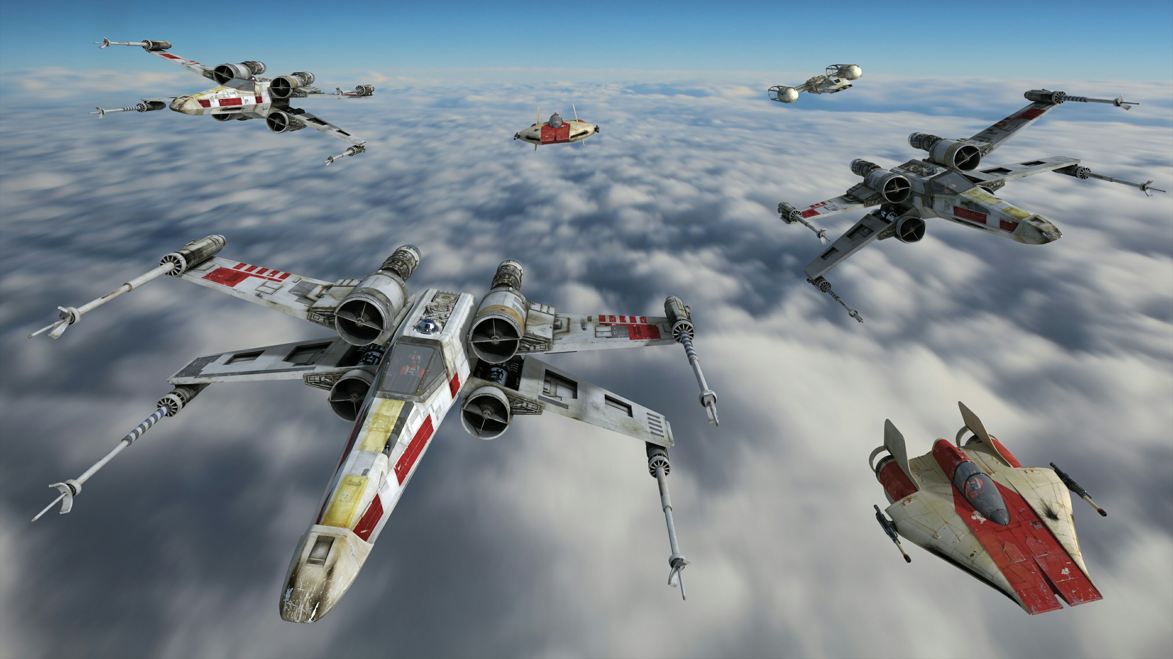 Star Wars Wallpaper X Wing Posted By John Cunningham