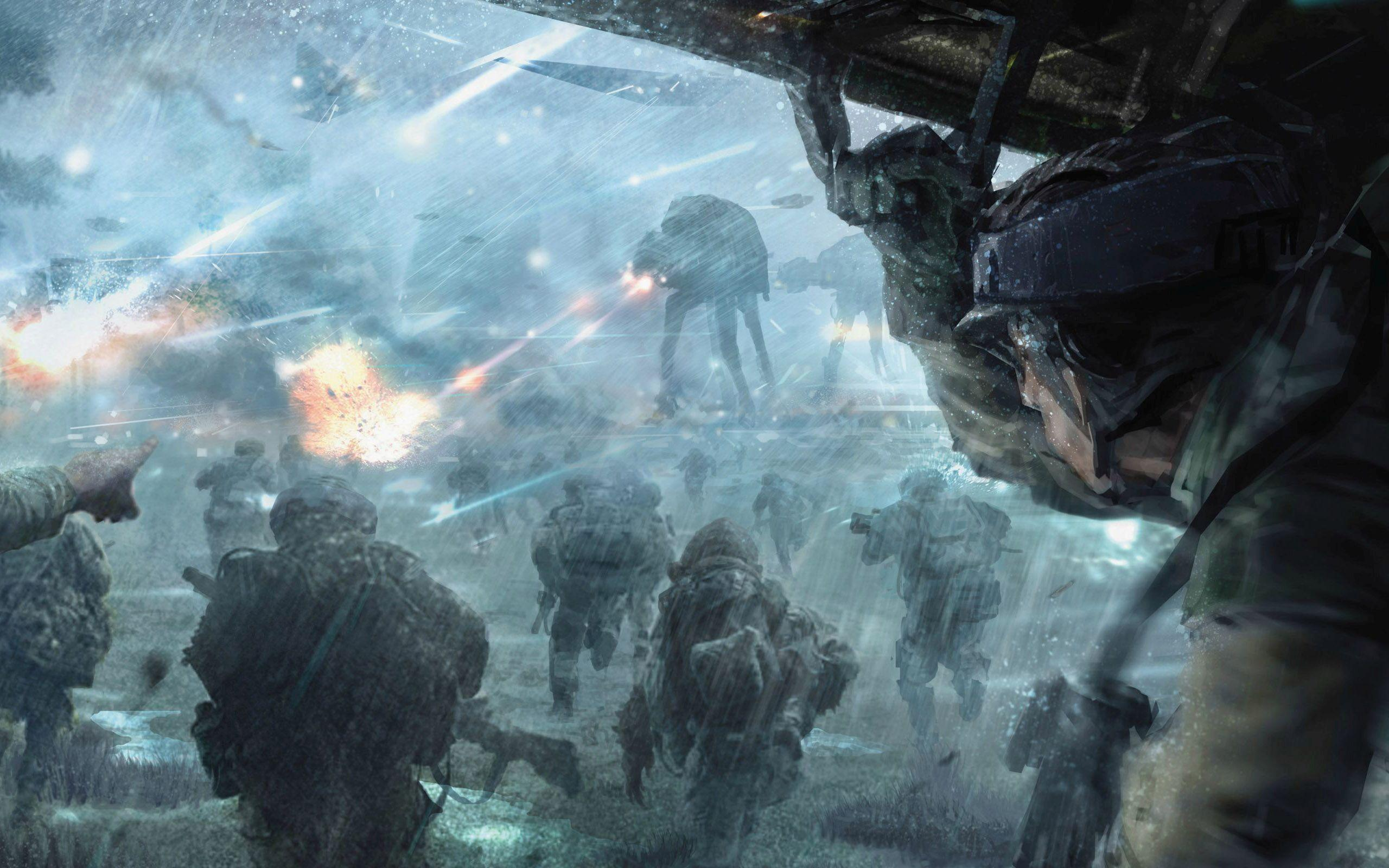 Star Wars Widescreen Wallpaper Posted By Christopher Simpson
