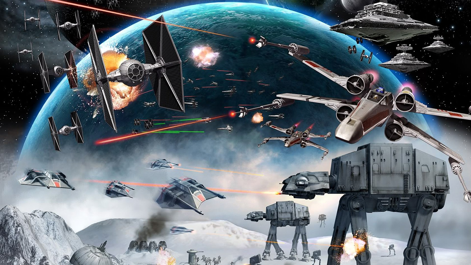 Star Wars Widescreen Wallpapers Posted By Ethan Peltier