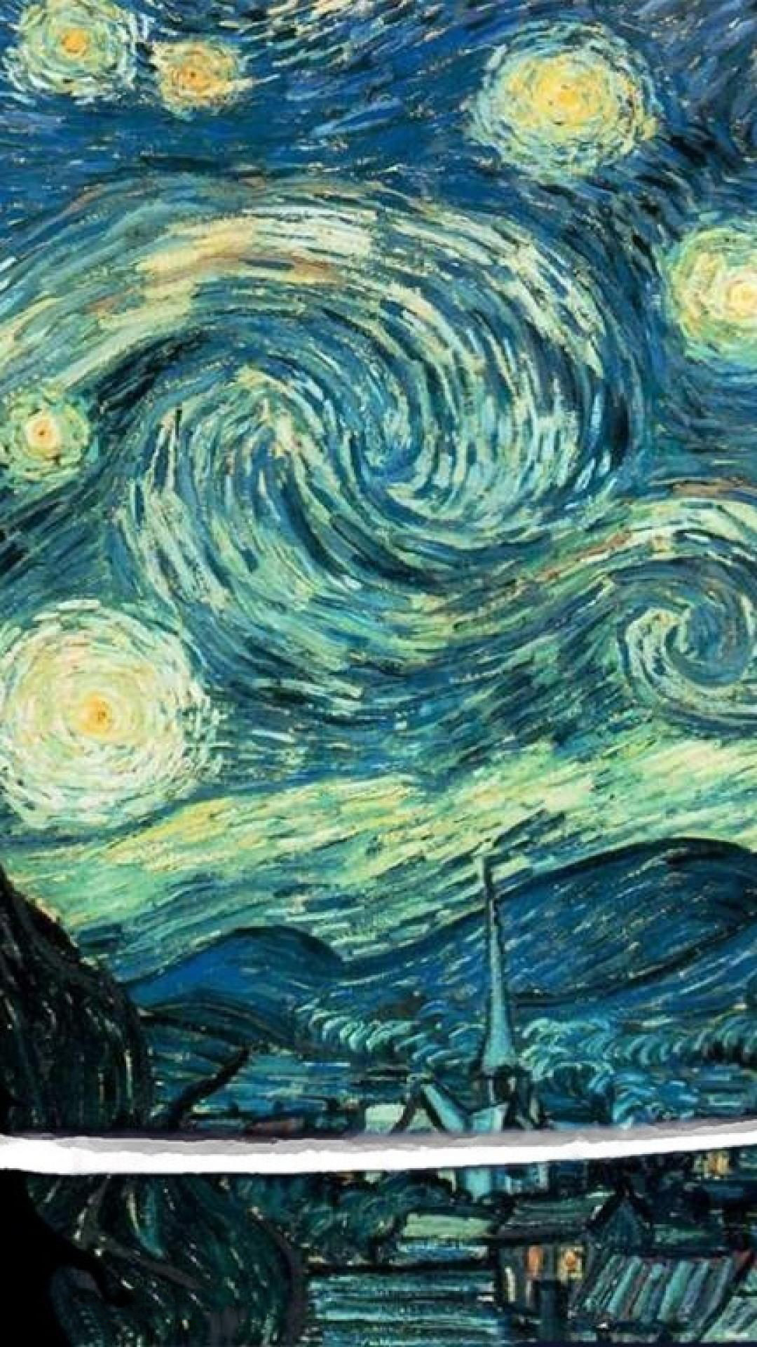 Starry Night Iphone Wallpaper