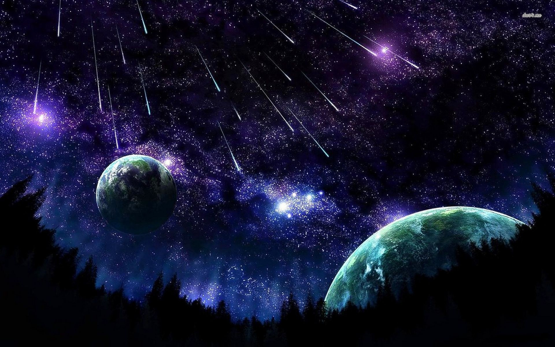 Animated Night Sky Wallpaper 51+ images