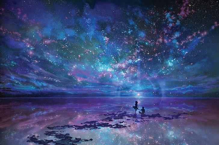 HD wallpaper Milky Way galaxy wallpaper, nebula, stars