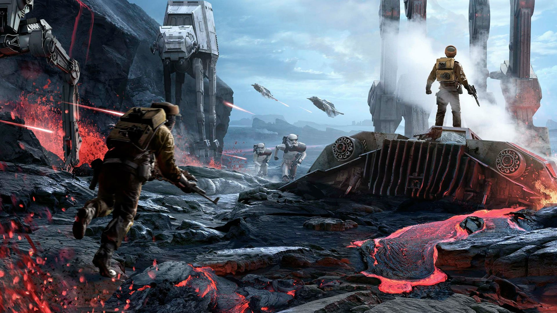 Starwars Battlefront Wallpaper Posted By Ethan Anderson