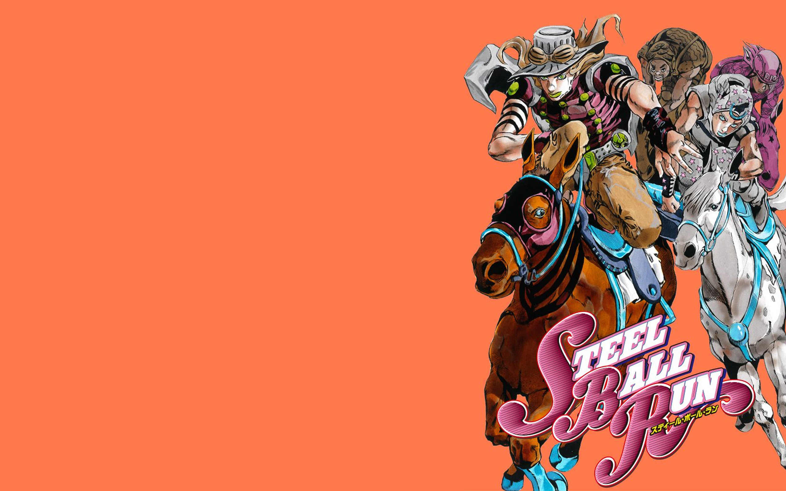 Steel Ball Run Wallpaper Posted By Samantha Thompson