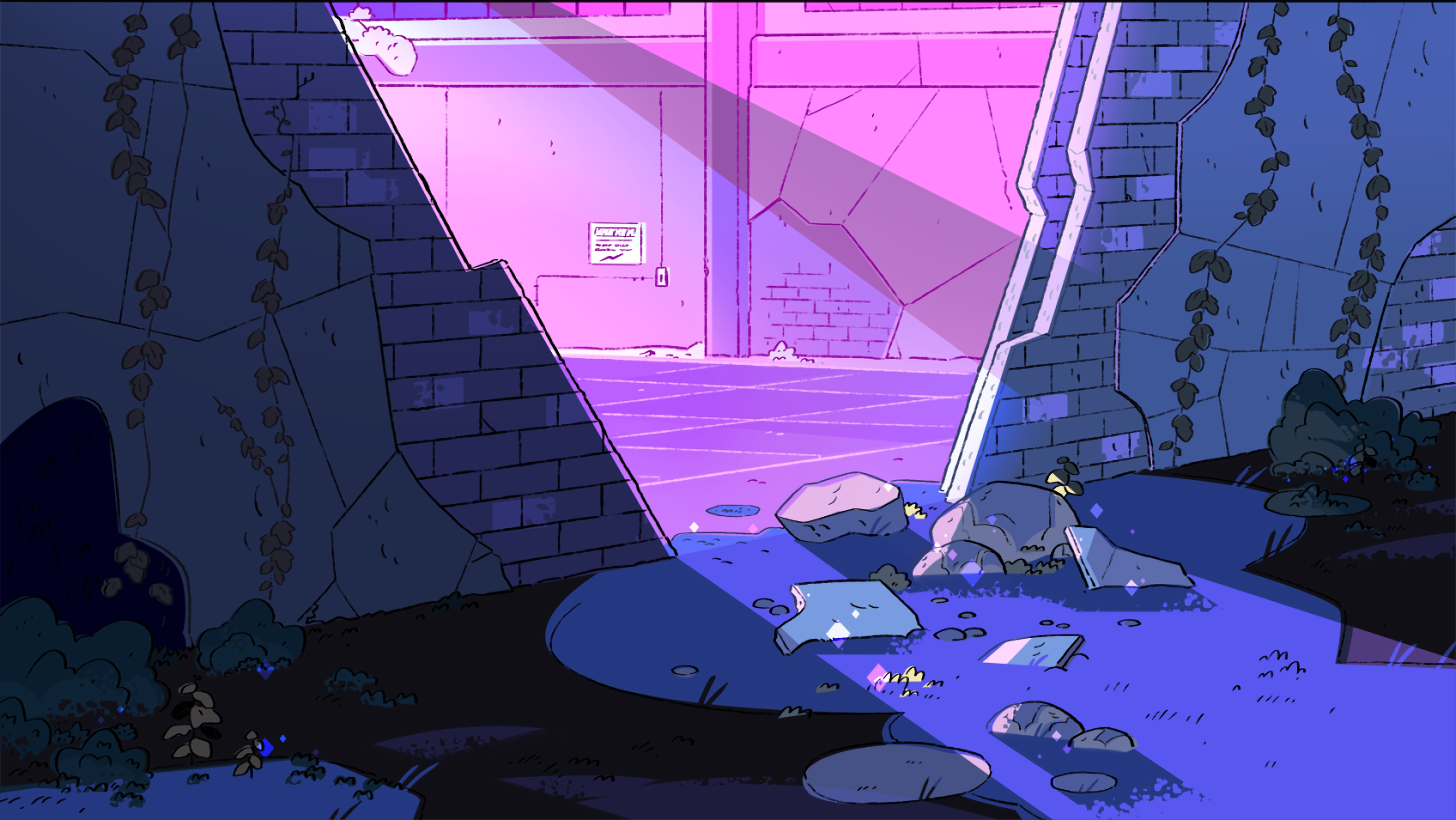 Steven Universe Backgrounds Space Posted By Sarah Simpson I decided to have a go at designing my own backgrounds in the style of different television series (to learn from and to help. steven universe backgrounds space