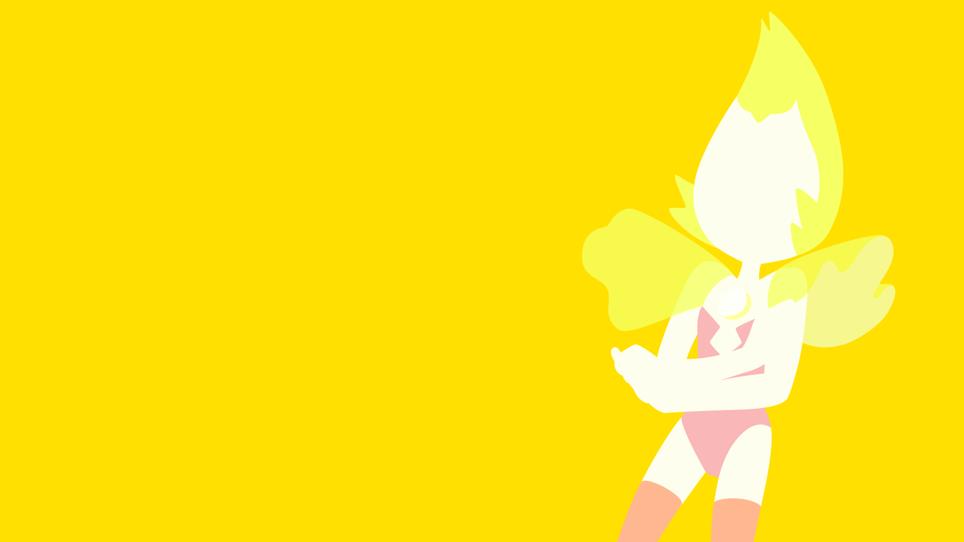 Yellow Pearl vector wallpaper by CaptainBeans on DeviantArt