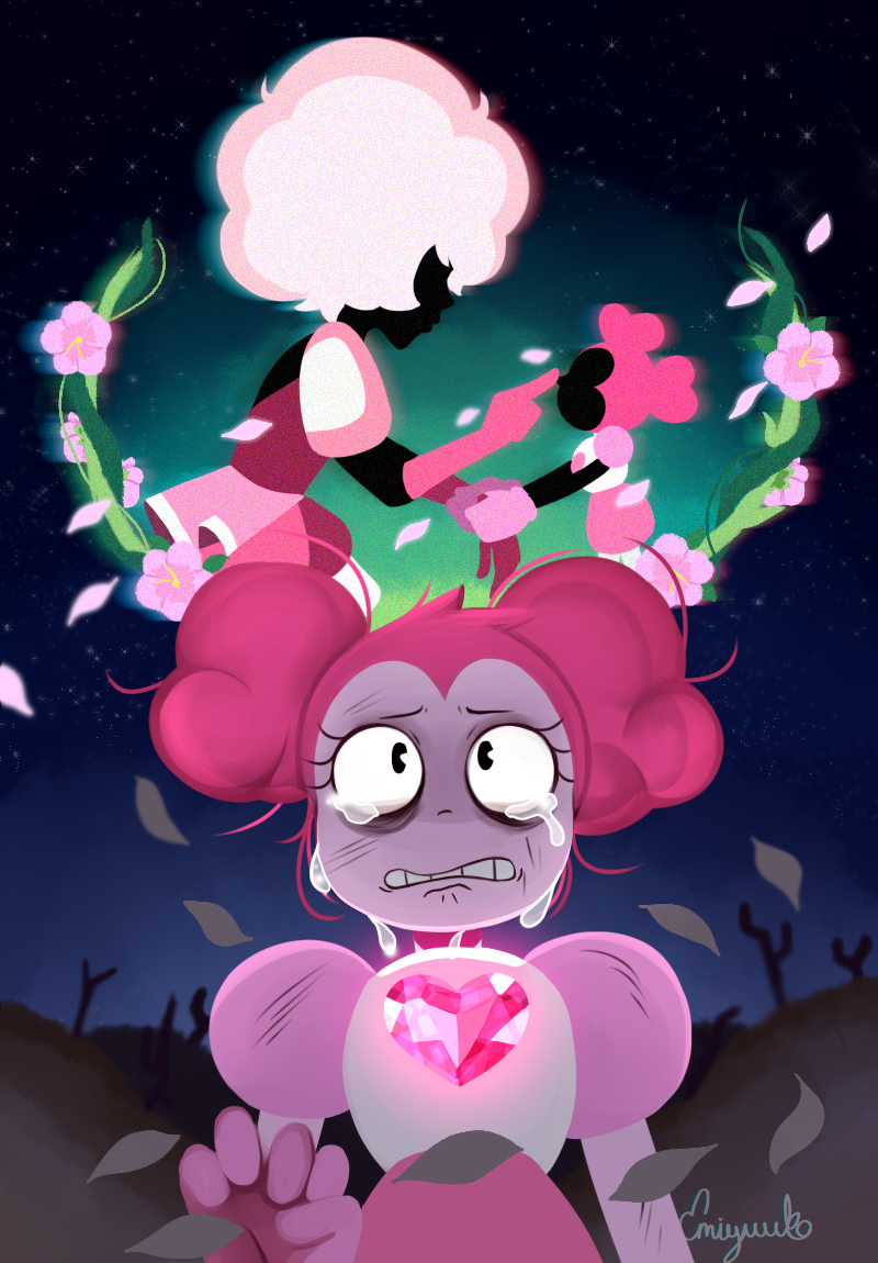 Steven Universe Spinel Wallpaper Posted By Michelle Mercado