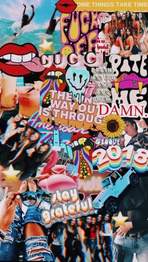 Sticker Collage Wallpaper Posted By Christopher Anderson