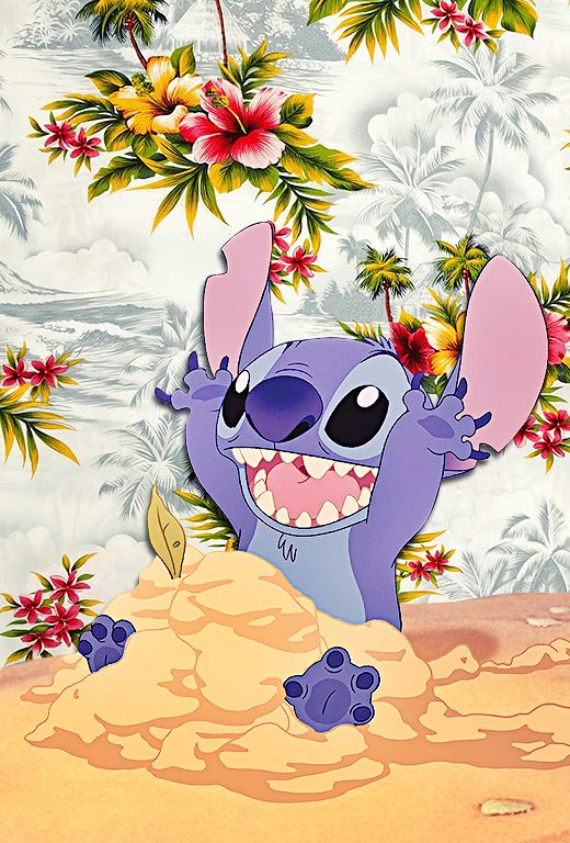 Cute Lilo And Stitch Wallpaper on WallpaperGet.com