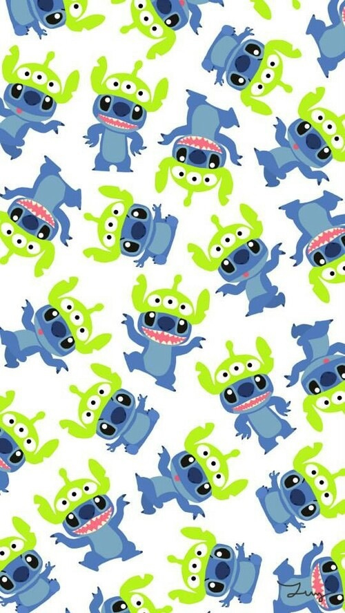 Cute wallpaper Stitch dY uploaded by vany a tm on We Heart It