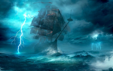 Stormy Seas Wallpaper Posted By Christopher Mercado