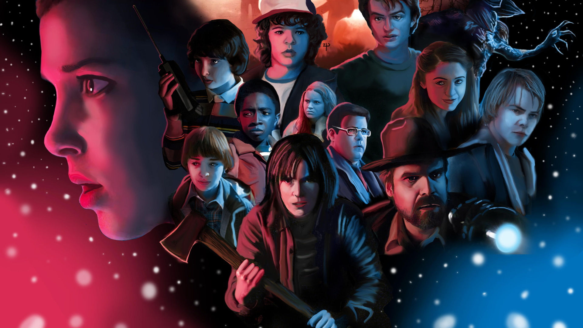 Stranger Things 2 Desktop Wallpaper Posted By Zoey Cunningham