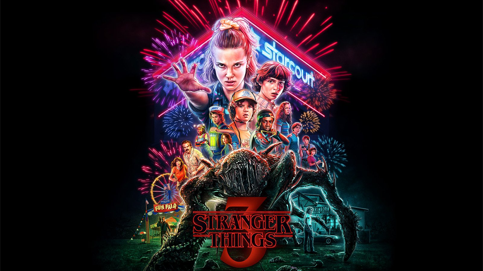 Stranger Things Season 2 Wallpaper Posted By Ryan Anderson