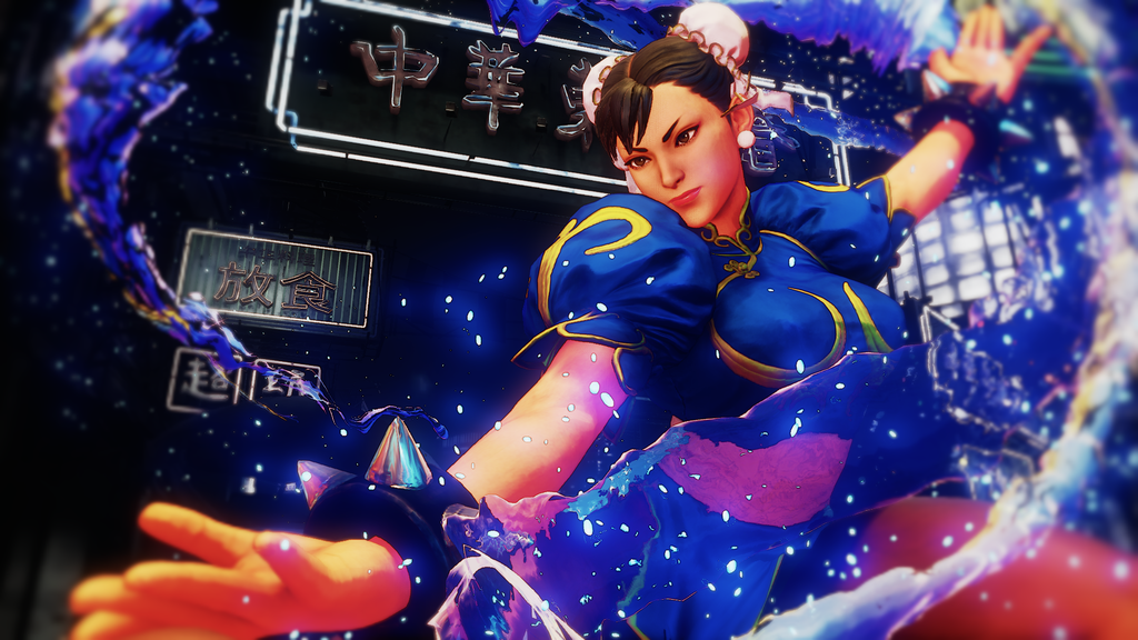 Street Fighter Chun Li Wallpaper Posted By Ryan Simpson