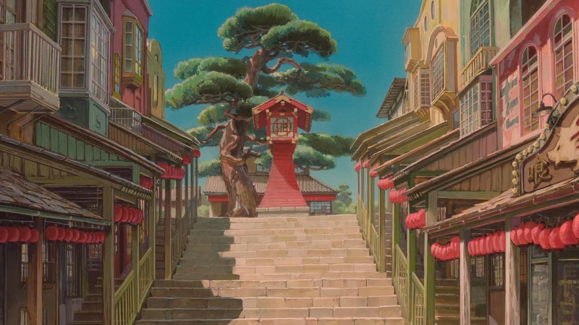 Studio Ghibli Desktop Wallpaper Hd Posted By John Simpson