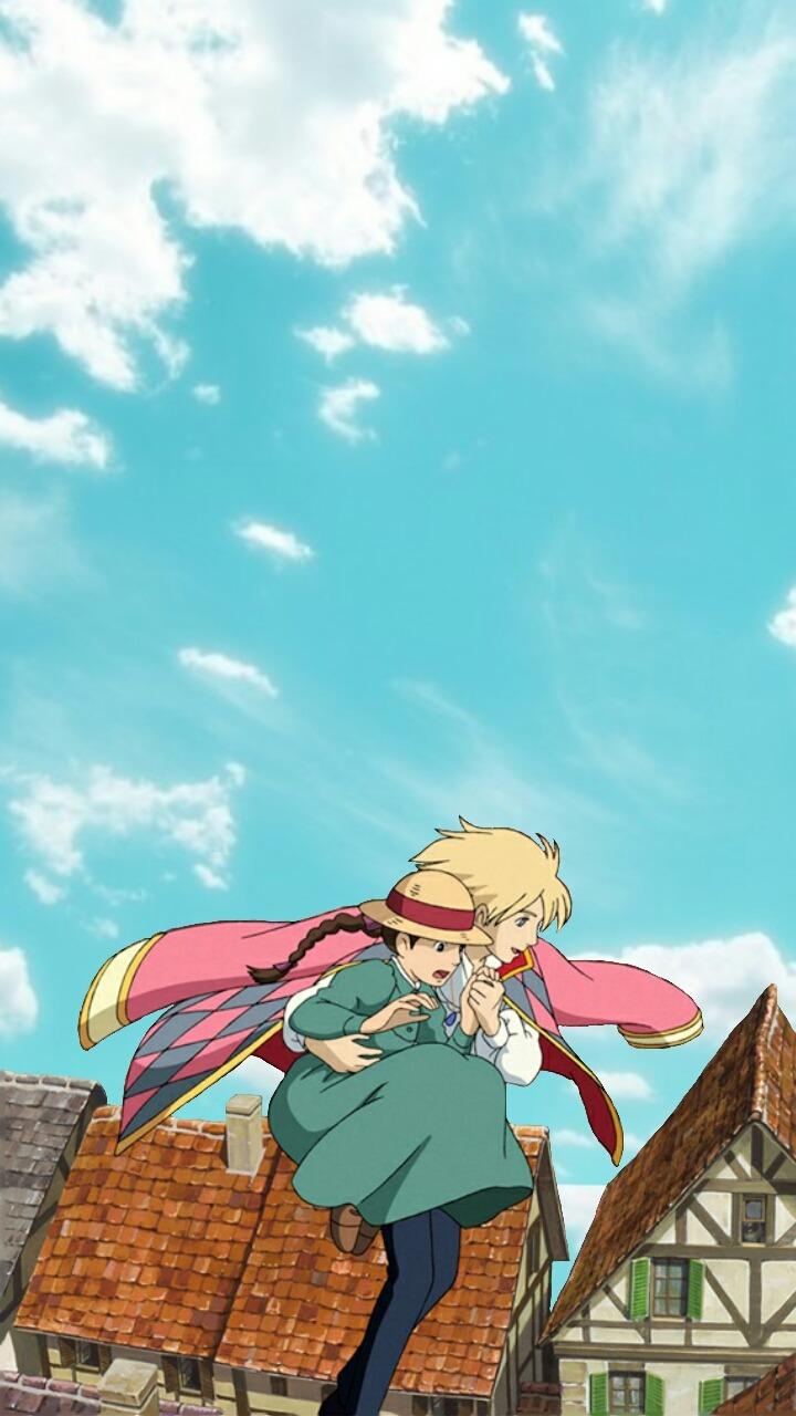Studio Ghibli Lockscreen Posted By Ryan Cunningham
