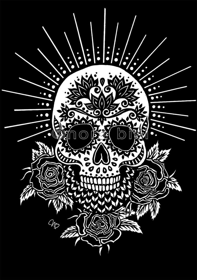 Sugar Skull Backgrounds Posted By Ethan Tremblay