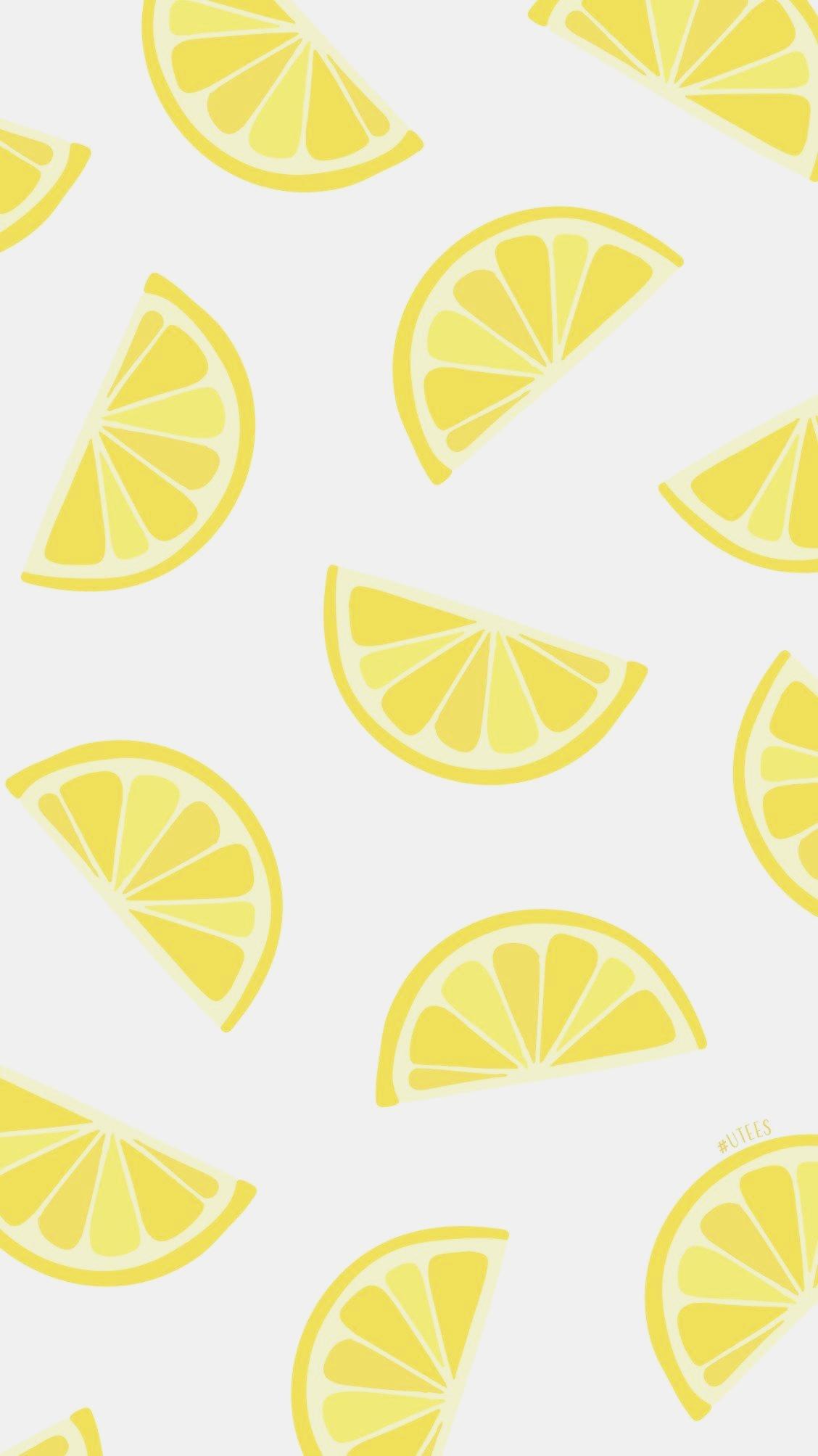 Lemon Love THy thyz Iphone Backgrounds I Summer Phone Cute