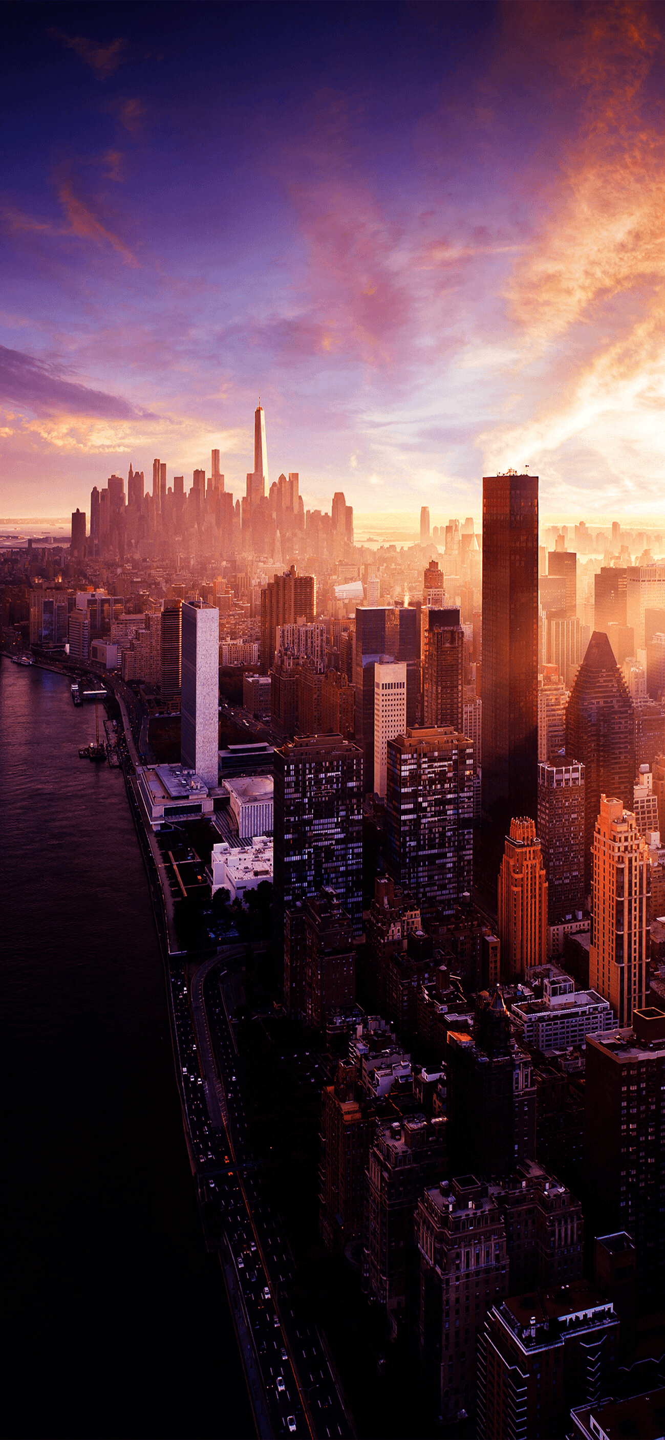 Sunset City Wallpaper Posted By Zoey Peltier