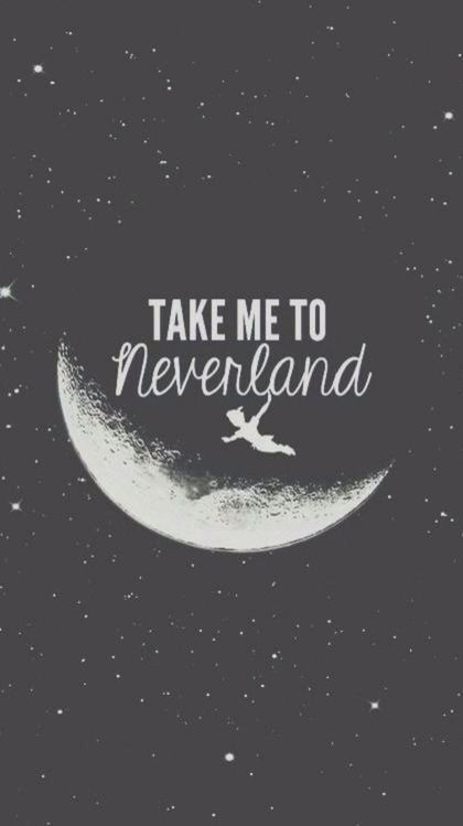 I love Peter Pan, and this would be a super cute background