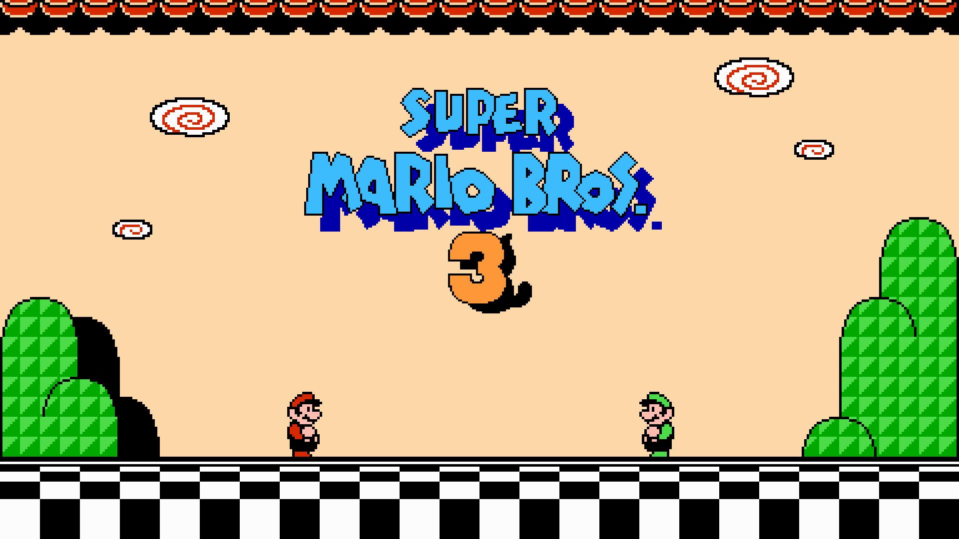 Super Mario 3 Wallpaper