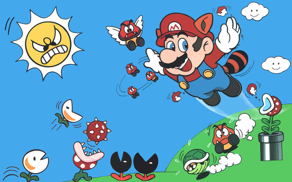 Super Mario Bros Wallpaper Posted By Sarah Mercado
