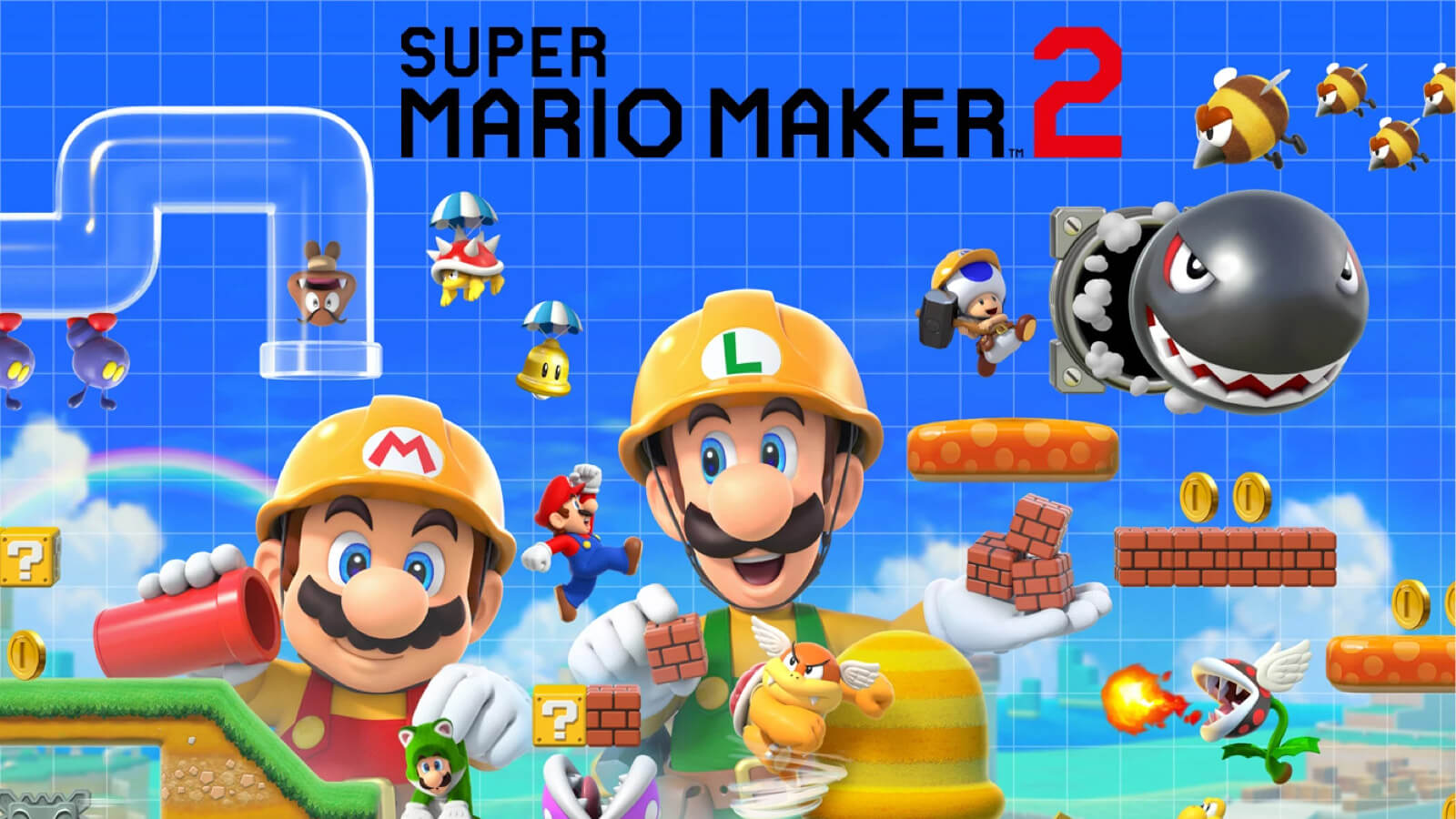 Super Mario Maker 2 Wallpaper Posted By Samantha Cunningham