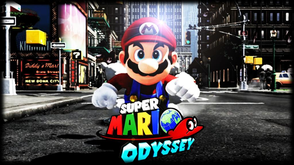 Super Mario Odyssey Desktop Background Posted By Ryan Cunningham