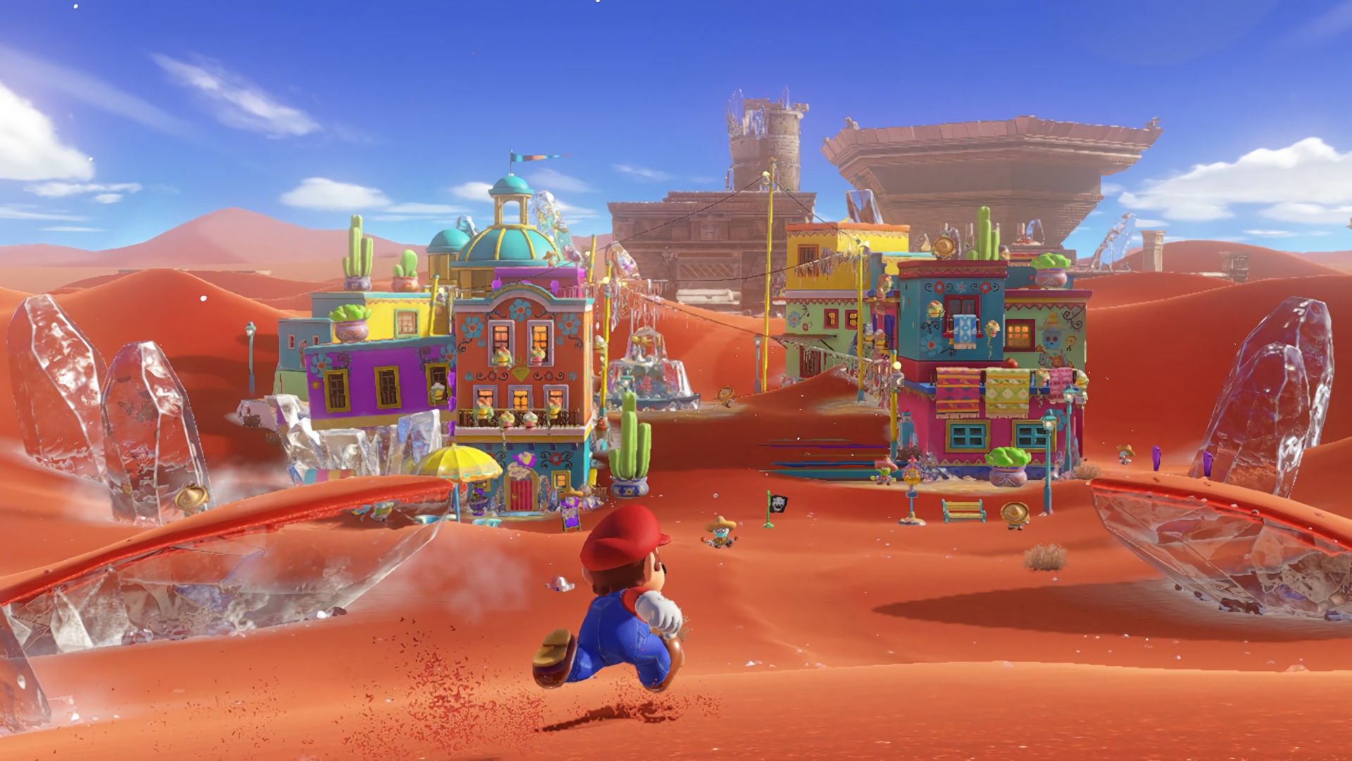 Super Mario Odyssey Wallpaper 1920x1080 Posted By Zoey Sellers