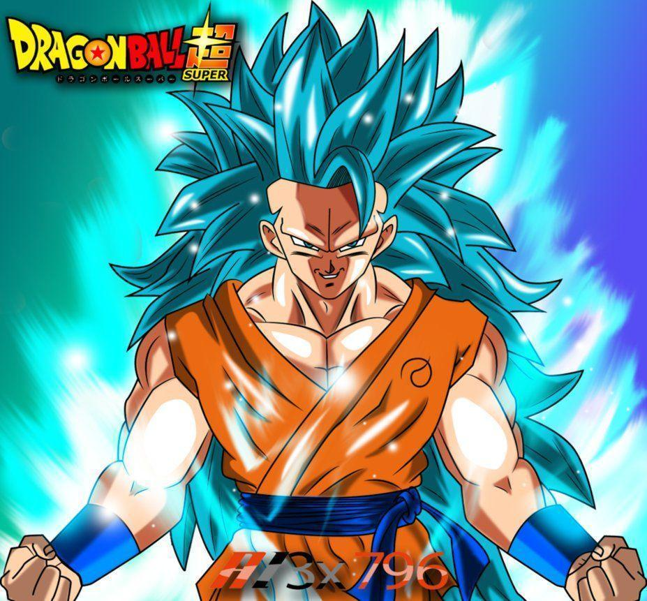Super Saiyan 3 Blue Posted By Ethan Peltier