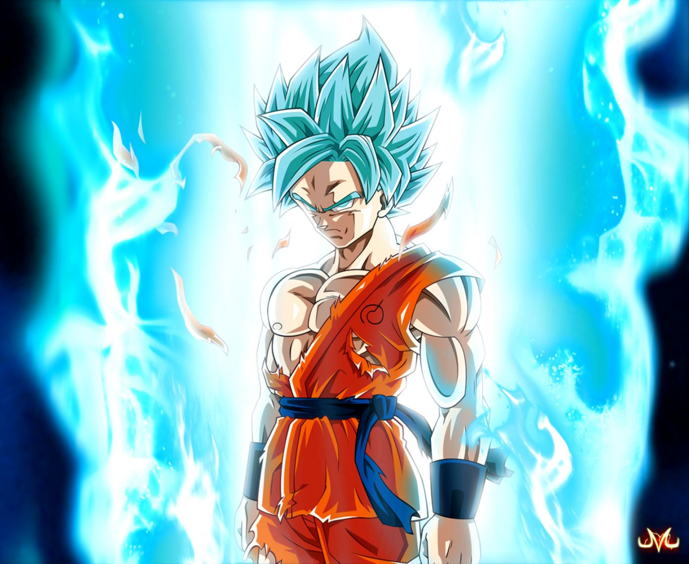 Super Saiyan God Super Saiyan Goku Wallpapers Posted By John Johnson