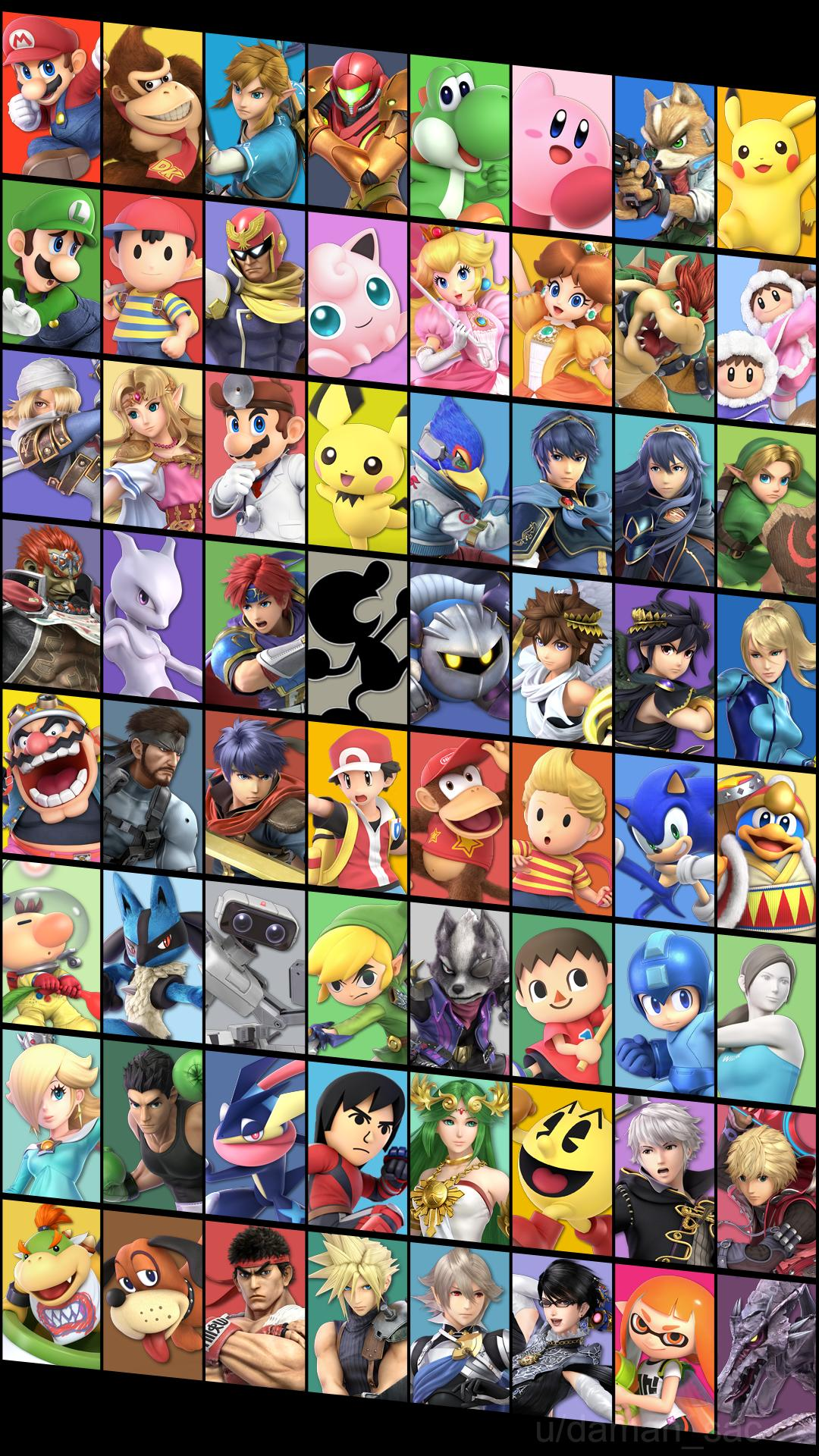 Super Smash Bros Iphone Wallpaper Posted By Ethan Anderson