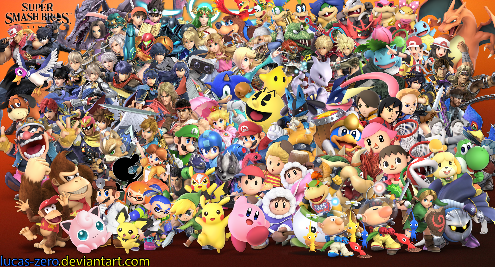 Super Smash Brothers Ultimate Wallpaper Saffron Photography