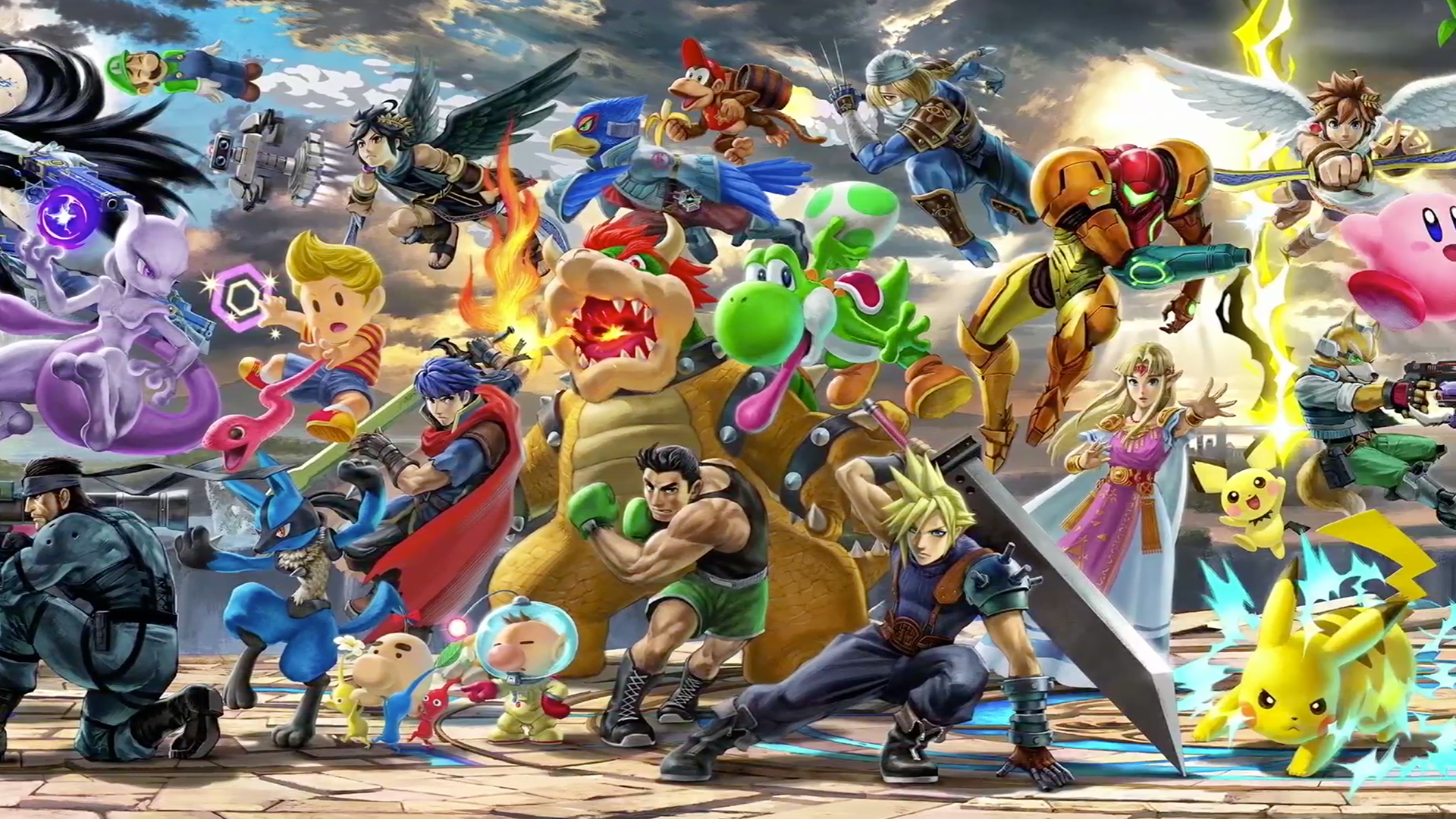 Super Smash Brothers Ultimate Wallpaper