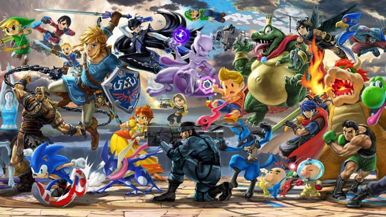 Super Smash Brothers Ultimate Wallpaper