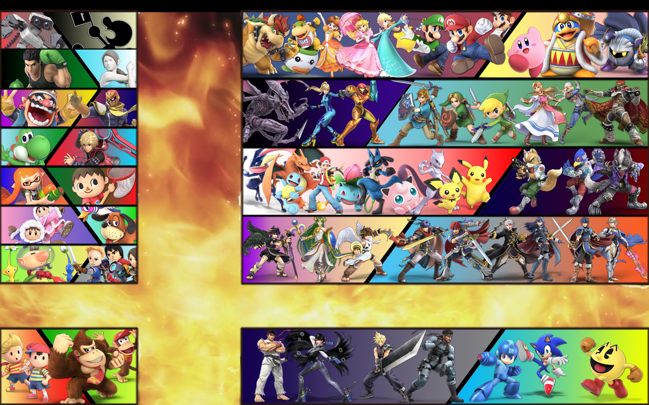 Super Smash Flash Wallpapers Posted By Zoey Simpson