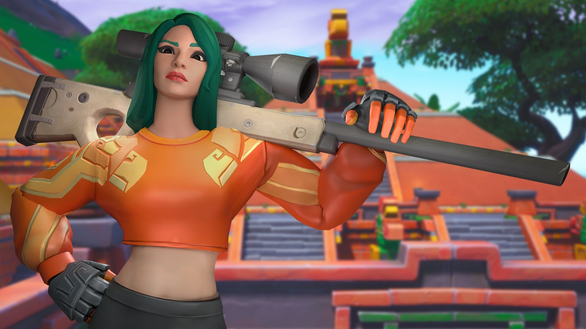 Super Striker Fortnite Wallpapers Posted By Ryan Simpson