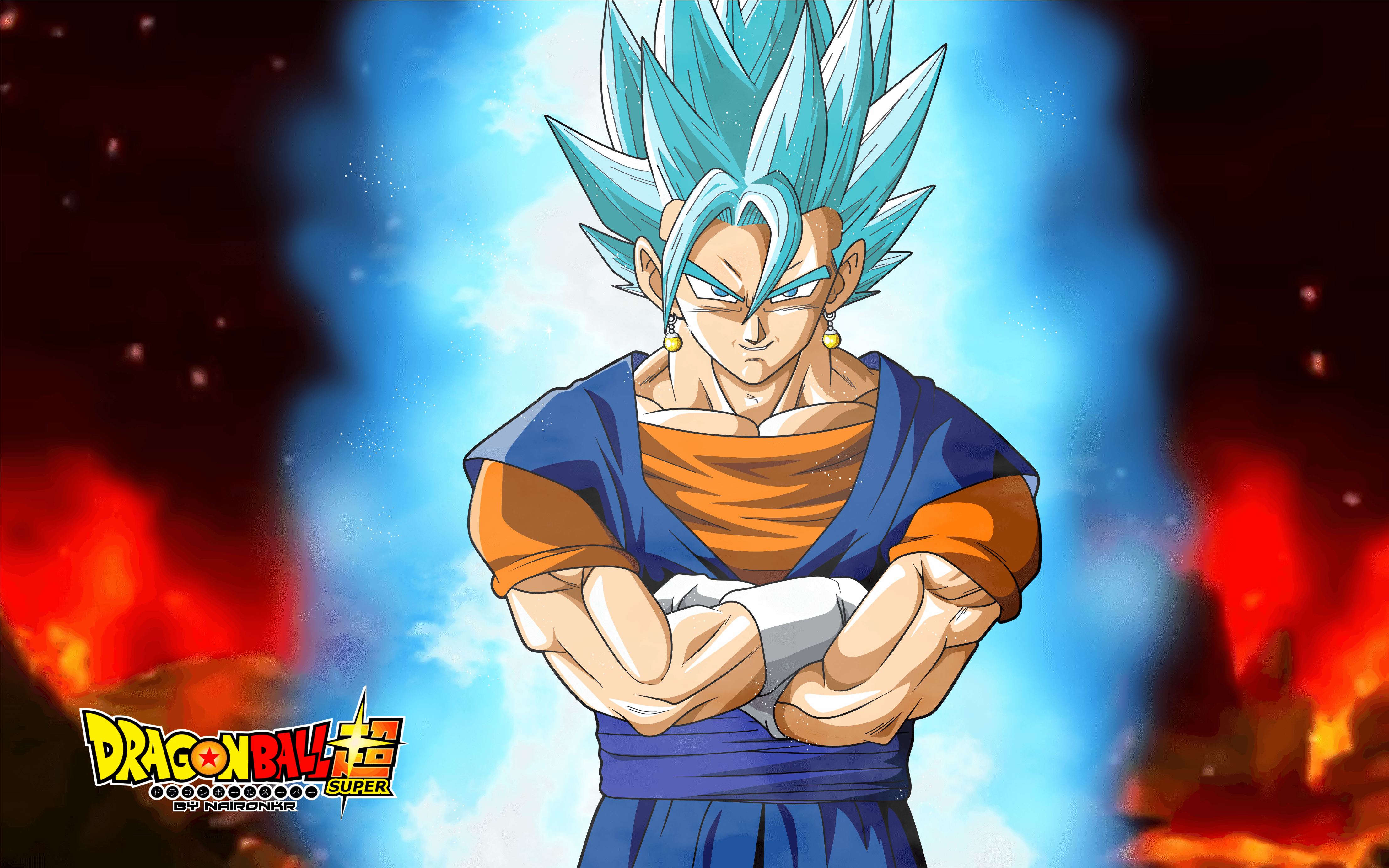 Super Vegito Wallpaper Hd Posted By Zoey Johnson