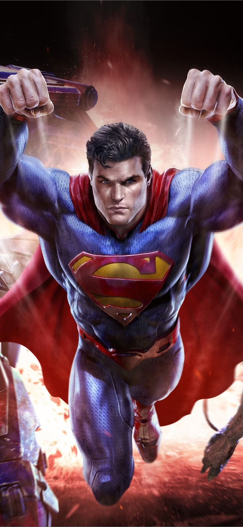 Superman 3d Wallpaper Posted By Zoey Anderson