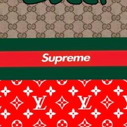 supreme and louis vuitton wallpaper