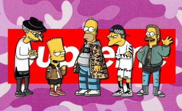 Supreme Bart Simpson Wallpaper posted by Ryan Walker