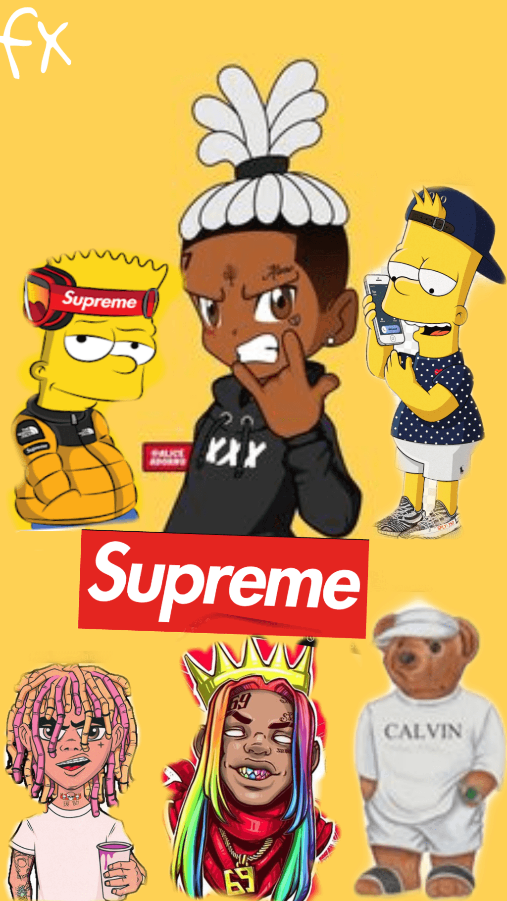 Supreme Bart Simpson Wallpapers Posted By Christopher Anderson