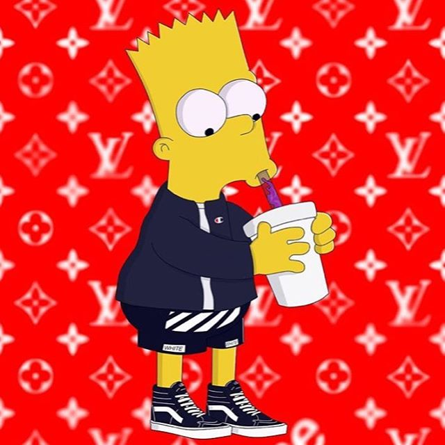 Supreme Bart Wallpaper Posted By John Cunningham