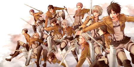 Survey Corps Wallpaper Posted By Ethan Walker