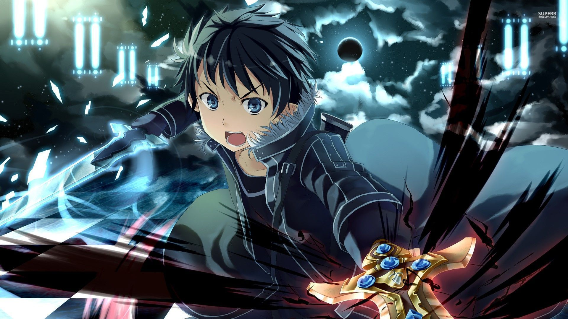 Sword Art Online 4k Wallpaper Posted By John Anderson