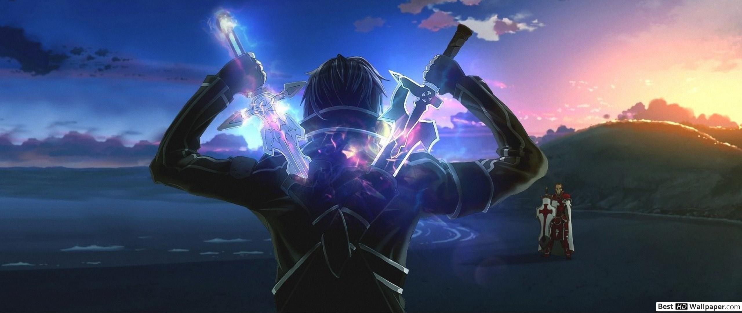 Sword Art Online Kirito Wallpaper Posted By Sarah Mercado